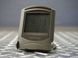 Radio Shack LCD Radio Controlled Travel Alarm Clock - Works MPN 63-959