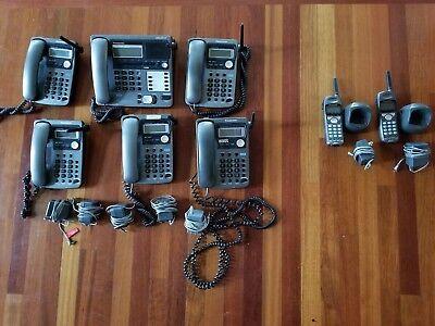 Small Business Phone System. 4 Line Panasonice Kx-tg4000b System.