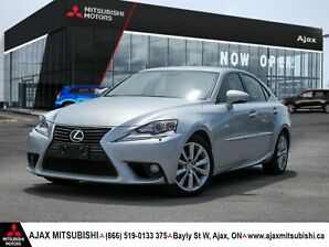 2014 LEXUS IS250 A.W.D.-1 OWNER/ACCIDENT FREE!!!