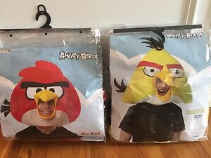 Angry Birds Masks/Costumes