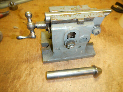 Older Dividing Head Tailstock With 2 Rams Possible Kearney Trecker Tooling