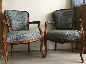 Antique accent chairs