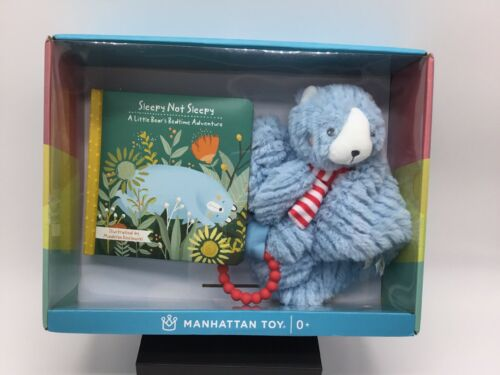 New Manhattan Toy Little Bear Gift Set Blankie Teether & Boo