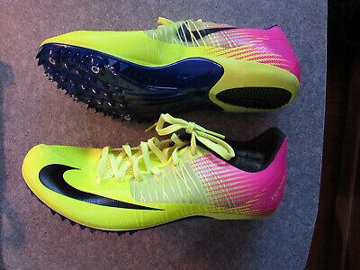 1d46a60c8f96 Nike Zoom Celar 5 Track Spikes Men Volt Pink Black 629226-999 Sz 11
