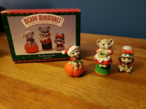 "Hallmark Merry Miniatures ""The Sewing Club"" 1995"