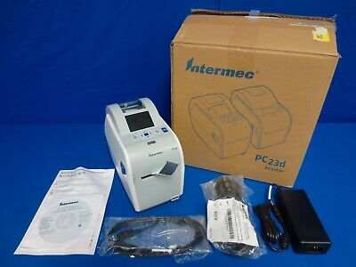 Intermec Pc23d Desktop Monochrome Barcode Label Printer