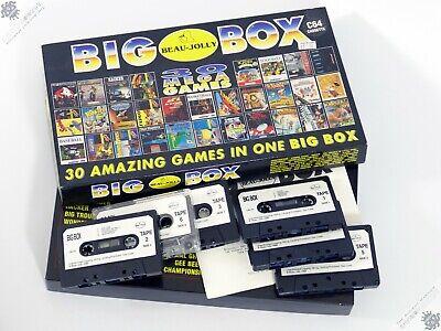COMMODORE 64 C64 C128 BEAU-JOLLY BIG BOX VINTAGE COMPUTER GAME ANTHOLOGY