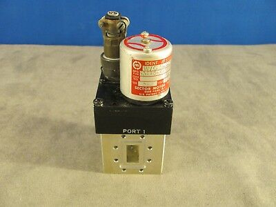 Waveguide Switch Sm75-4pl1bp K-band 4 Port Rf Transfer Manualelectric 282