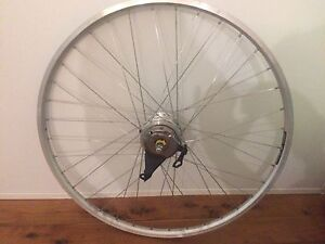 Shimano nexus 7 700c wheel, cargo bike wheels, v brakes Hornsby Hornsby Area Preview