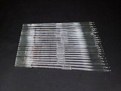 Ten 10 - Fisherbrand Pyrex 3ml Class A Reusable Volumetric Pipettes 13-650-2d