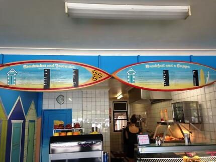 Burger/sandwich cafe Newcastle East Newcastle Area Preview