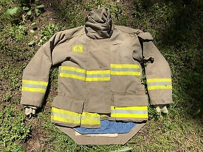Morning Pride Fire Fighter Turnout Jacket 42 2935 34 Bunker Gear 2758
