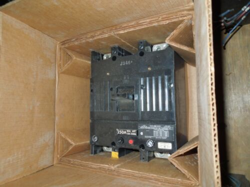 Ge Tjj426250wl 250a 2p 600vac 250vdc Circuit Breaker New Surplus In Box