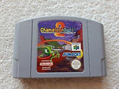 Chameleon Twist 2 - N64 Nintendo 64 - Cartridge only - Pal