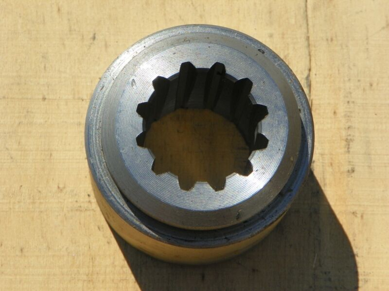 Weld in 12 Spline Blade Hub, mounts blade pan to gearbox, fits most 40hp gearbox