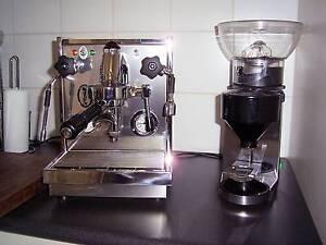 Fiorenzato Bricoletta , E61 Coffee Machine with Grinder North Geelong Geelong City Preview