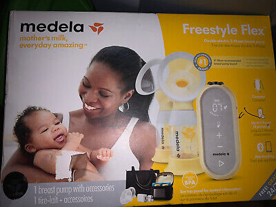 Medela Freestyle Flex Breast Pump Factory Sealed Double Electric NEW Version