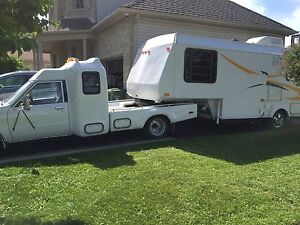 1988 Toyota Custom Dually Fifth Wheel