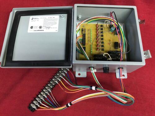 Hammond 1414PHH4  Enclosure Type 12 Hinged Electrical Enclosure W/circuit board