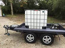 Tandem trailer with fire fighting setup Highton Geelong City Preview