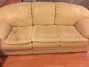Leather Loveseat and Sofa for sale! *Great Condition*