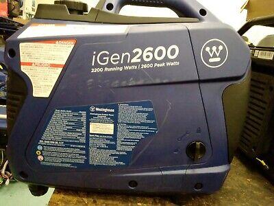 Used Westinghouse Igen2600 Portable Inverter Generator