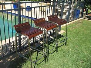 3 Outside Bar Stools $25.00 each Yowie Bay Sutherland Area Preview