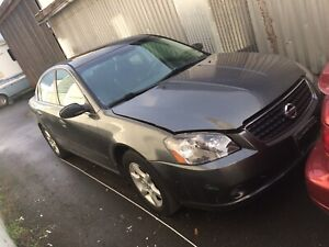 2006 Nissan Altima Project