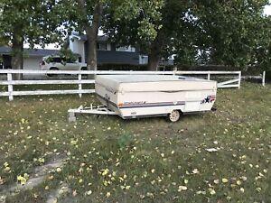 Tent trailer MUST GO