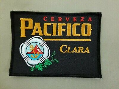Pacifico Cerveza Clara Beer embroidered iron on patch. for sale  Long Beach