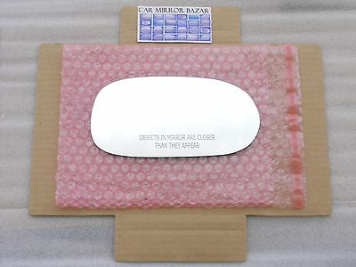 RD065 Replacement Mirror Glass for 2005-12 CORVETTE C6 Passenger Side View Right ()