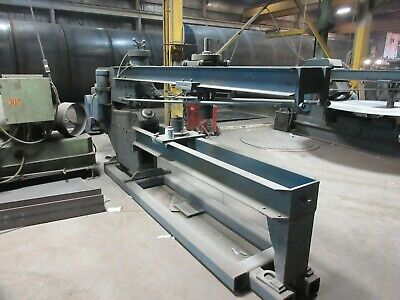 Blue Valley Circle Shear Ring Extended Throat 38 X 147 Capacity Rare Machine