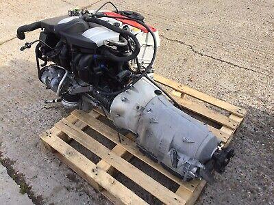 MERCEDES SLK230 C230 2.3 COMPRESSOR ENGINE MOTOR COMPLETE WITH TRANSMISSION