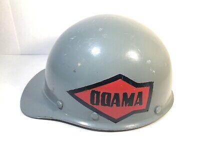 Vintage Msa Skullgard Miners Safety Helmet Hard Hat Fiberglass