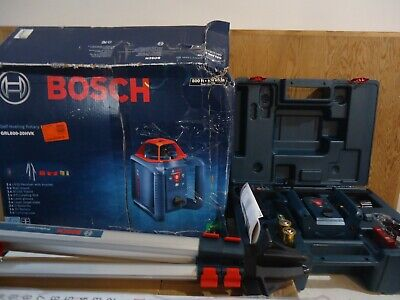 Bosch Grl80020hvk Self Leveling 800ft Rotary Laser Kit Nib