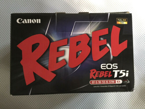 Canon EOS Rebel T5i DSLR Camera with 18-135mm IS STM Lens Black 8595B005