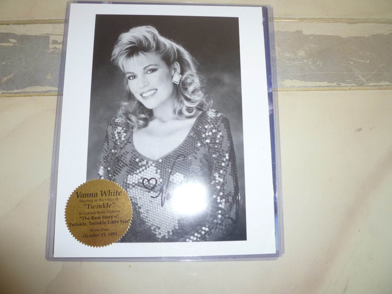 Vanna White Wheel Of Fortune 8x10 Signed Photo Autographed Picture Twinkle  - $20.00