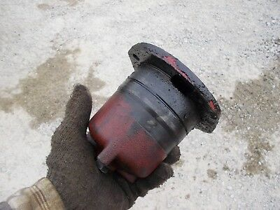 Case 830 Diesel Rowcrop Tractor A11553 Power Steering Oil Filter Side Housing