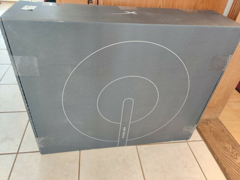 SpaceX STARLINK Internet Dish, Modem, Router & Cables - USED for 2 weeks