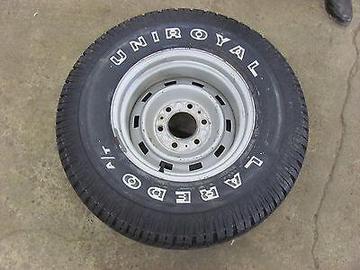 NOS Silverado Blazer Jimmy 4X4 15X8 Spare w/ Tire 79 80 81 82 Wheel Rim
