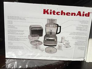 Brand new in box kitchen aid food processor