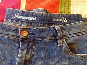 Jeans West Boyfriend straight leg Jeans Size 14 Ladies - NEW Lutwyche Brisbane North East Preview