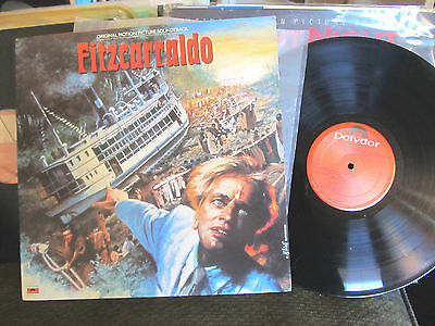 FITZCARRALDO OST Popol Vuh PROMO LP Stereo Werner Herzog Kraut Rock RARE '82 !!