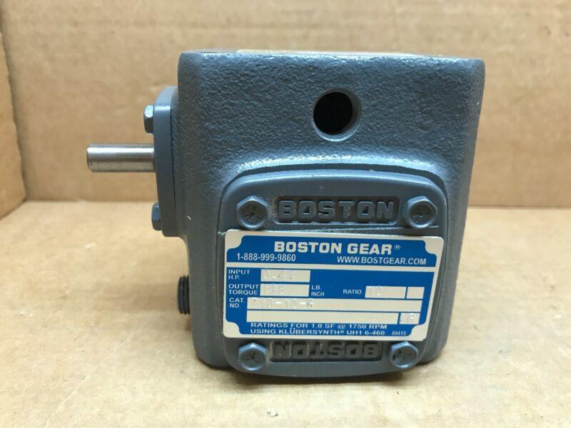 Boston Gear Speed Reducer Catalog Number 710-10-G, Item Code 53588, 10:1 Ratio