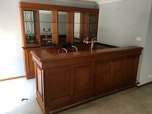 Solid wood custom built 'Ida Bar', immaculate condition $$ NEGOTIABLE Tumbi Umbi Wyong Area Preview
