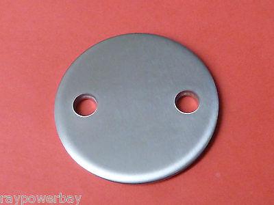 Ronde geschliffen 80x6 Loch 2x11 Edelstahl V2A Ankerplatten VA Ankerplatte gebraucht kaufen  Sulz