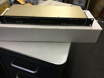 New Csi Model Lt-4200 Trunked Repeater Manager W Manual Ham
