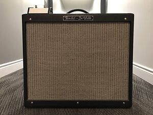 Fender Hot Rod Deville 2x12 All-Tube Combo w/ Footswitch & Cover