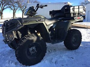 2013 Polaris sportsman 500HO low km for sale or trade