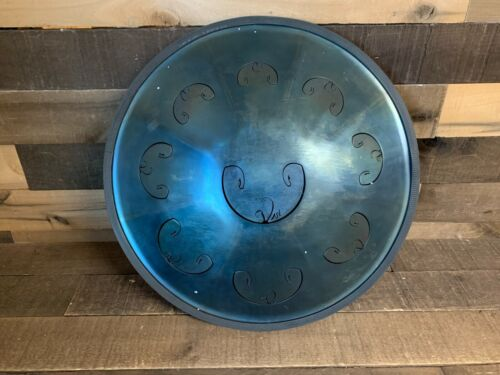Rav Vast Handpan Drum Blue NEW